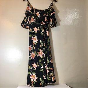 Forever 21 Floral Wrap Dress